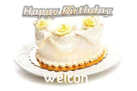 Happy Birthday Cake for Welton