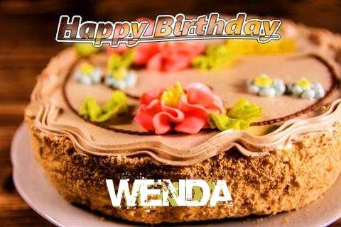 Happy Birthday Wenda