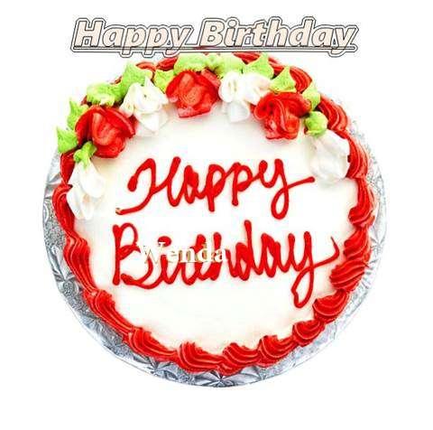 Happy Birthday Cake for Wenda