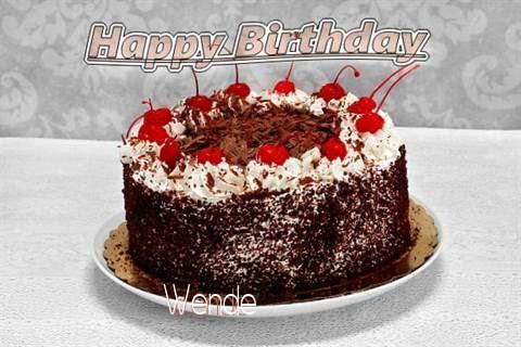 Happy Birthday Wende