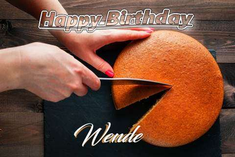 Happy Birthday to You Wende