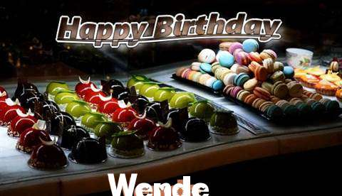 Happy Birthday Cake for Wende