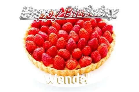 Happy Birthday Wendell Cake Image