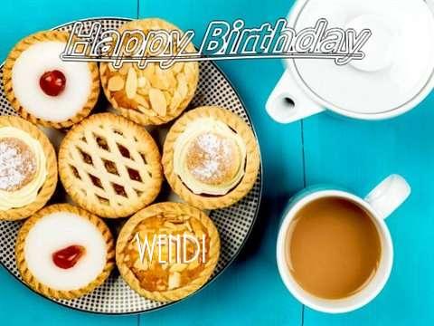 Happy Birthday Wendi