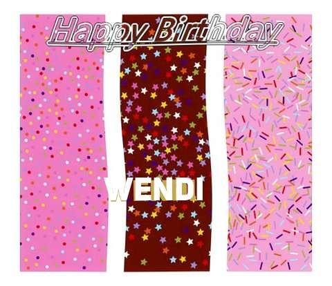 Happy Birthday Wishes for Wendi