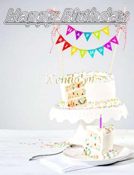 Happy Birthday Wendolyn Cake Image