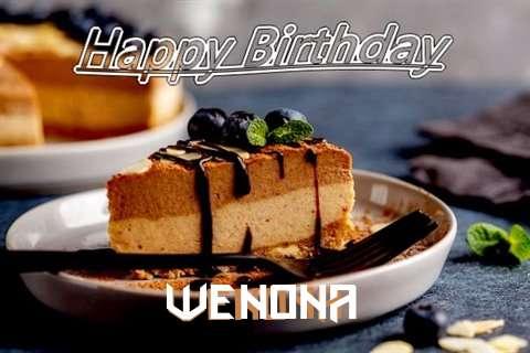Happy Birthday Wenona Cake Image
