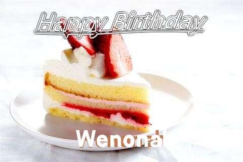 Happy Birthday Wenonah
