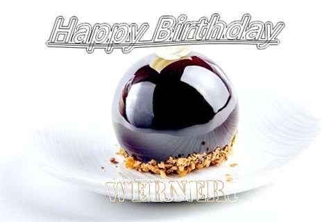 Happy Birthday Cake for Werner