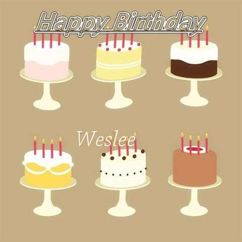 Weslee Birthday Celebration