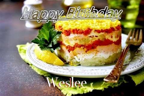 Happy Birthday to You Weslee