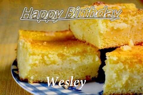 Happy Birthday Wesley