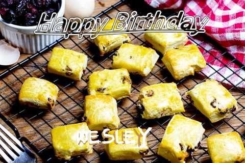 Happy Birthday to You Wesley