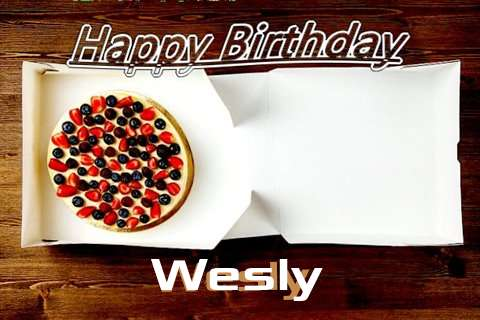 Happy Birthday Wesly