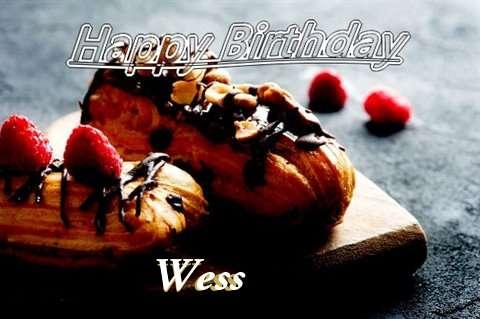 Happy Birthday Wess