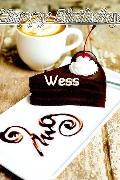 Wess Birthday Celebration