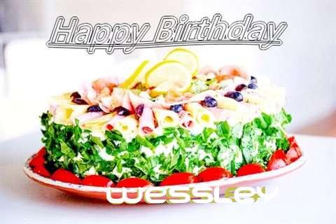 Happy Birthday Cake for Wessley
