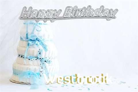 Happy Birthday Westbrook Cake Image