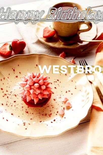 Happy Birthday Westbrooke