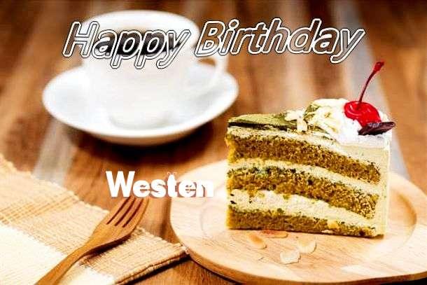 Happy Birthday Westen