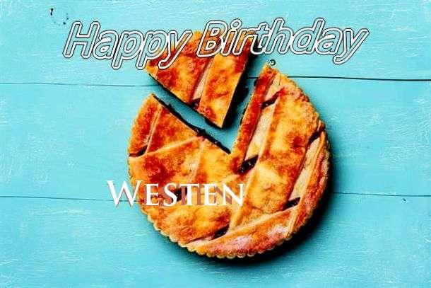 Westen Birthday Celebration