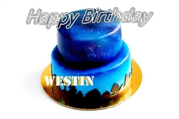 Happy Birthday Cake for Westin