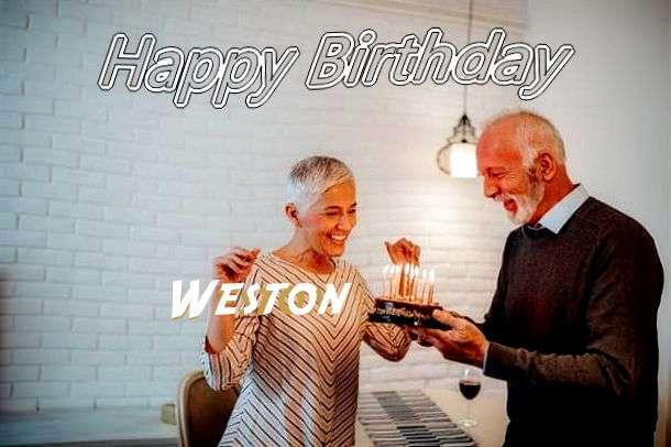 Happy Birthday Wishes for Weston