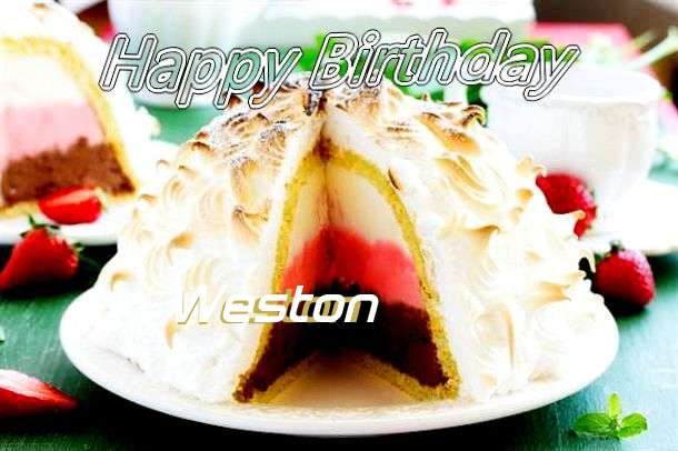 Happy Birthday to You Weston