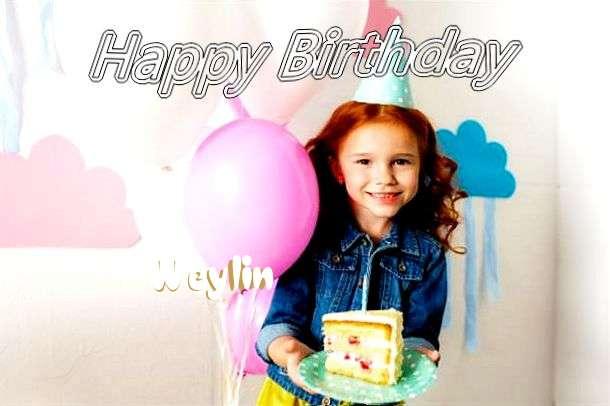 Happy Birthday Weylin Cake Image