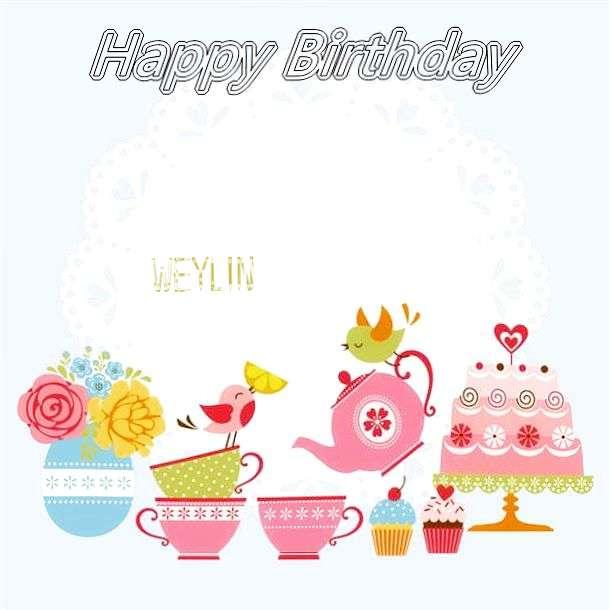 Happy Birthday Wishes for Weylin