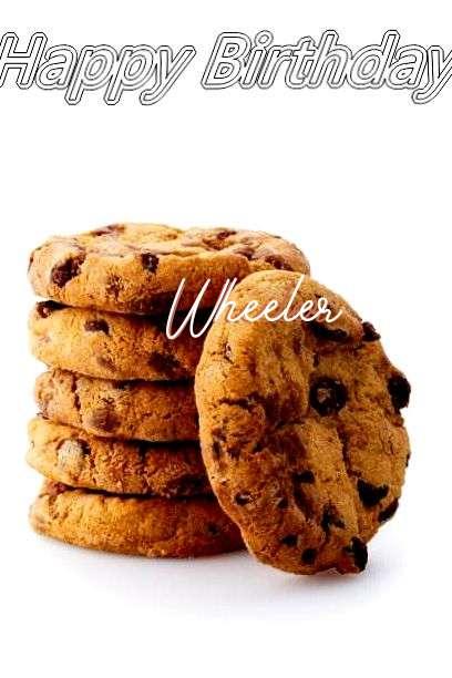 Happy Birthday Wheeler Cake Image
