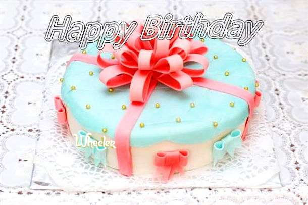 Happy Birthday Wishes for Wheeler