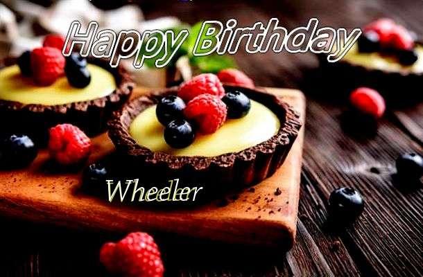 Happy Birthday to You Wheeler