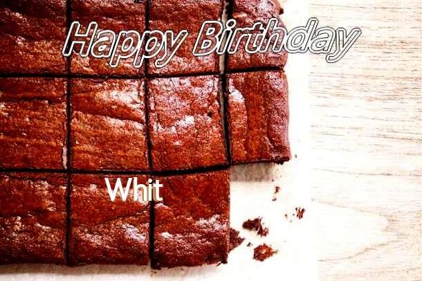 Happy Birthday Whit