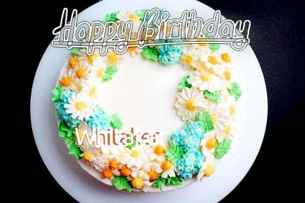 Whitaker Birthday Celebration