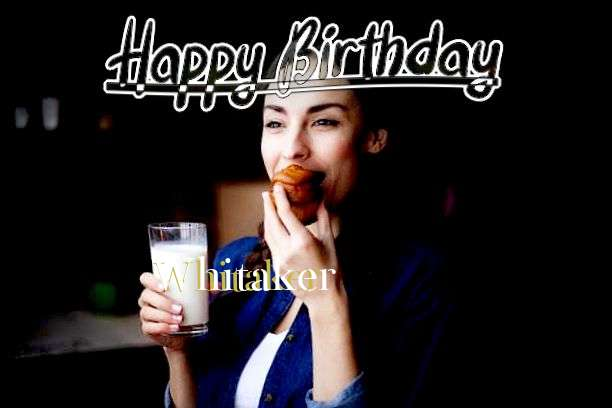 Happy Birthday Cake for Whitaker