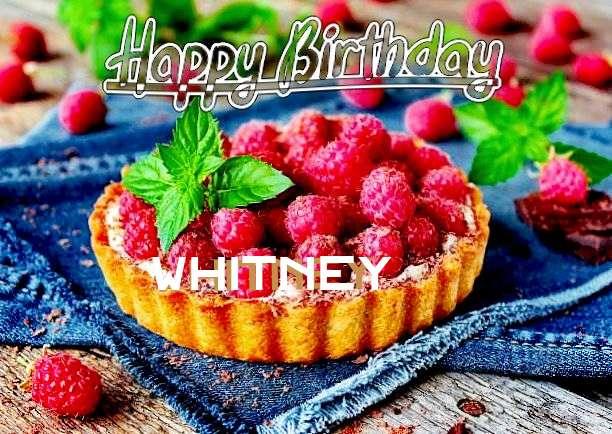 Happy Birthday Whitney Cake Image