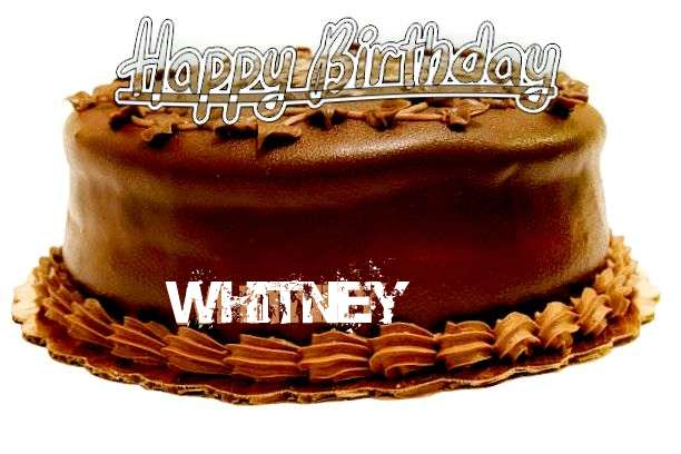 Happy Birthday to You Whitney