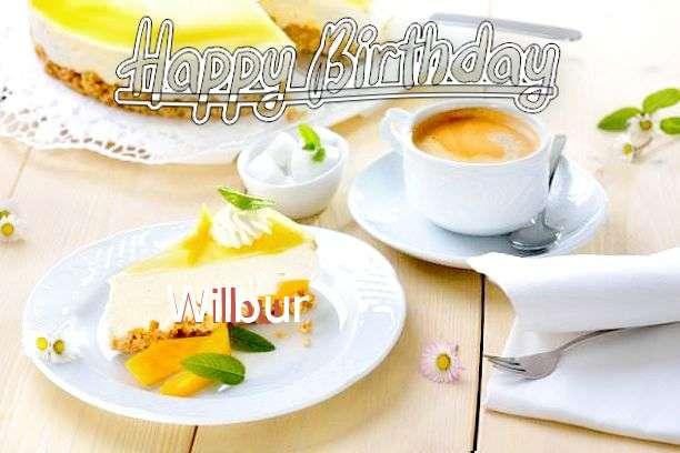 Happy Birthday Wilbur Cake Image