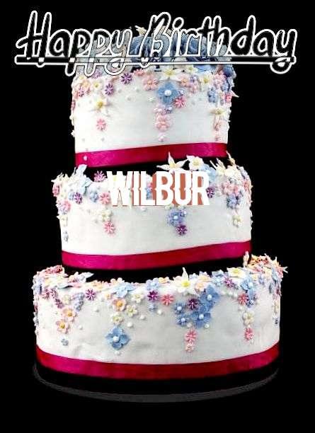 Happy Birthday Cake for Wilbur