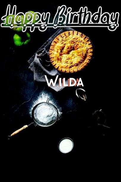 Happy Birthday Wilda