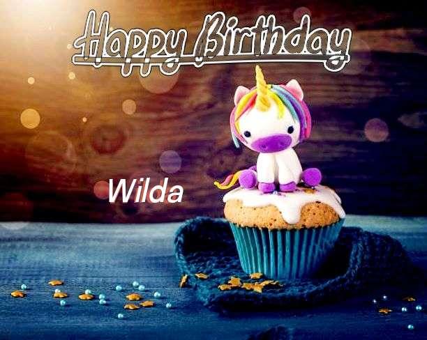 Happy Birthday Wishes for Wilda