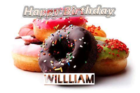 Birthday Wishes with Images of Willliam