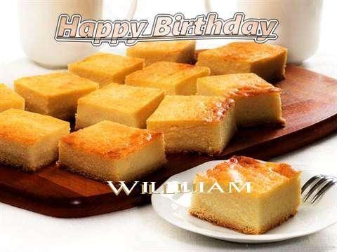 Happy Birthday to You Willliam