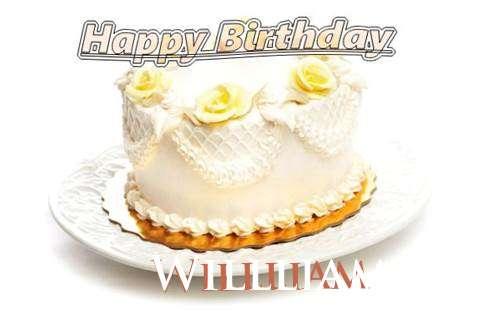 Happy Birthday Cake for Willliam