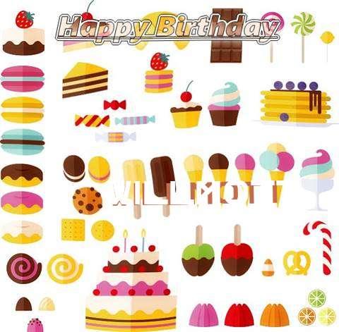 Happy Birthday Willmott Cake Image