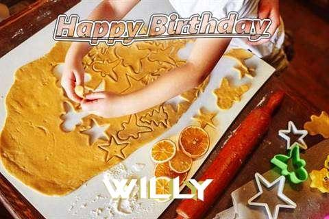 Willy Birthday Celebration