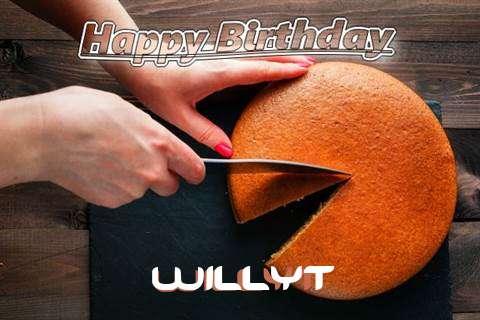 Happy Birthday to You Willyt