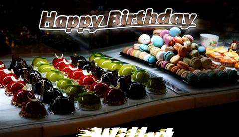 Happy Birthday Cake for Willyt