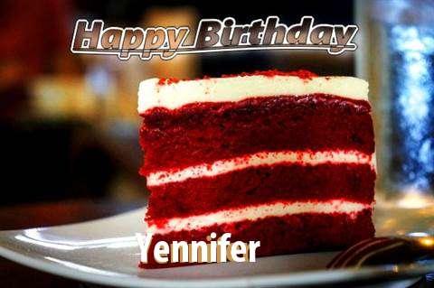 Happy Birthday Yennifer
